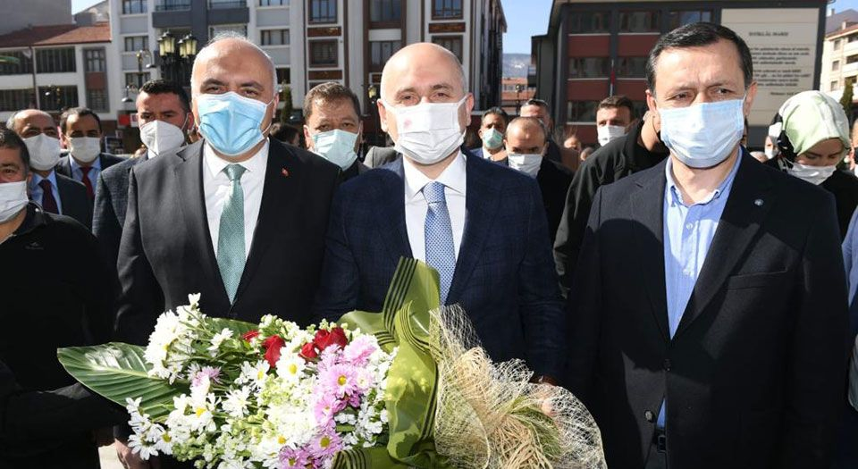 Photo of Bakan Karaismailoğlu, Kızılcahamam'da