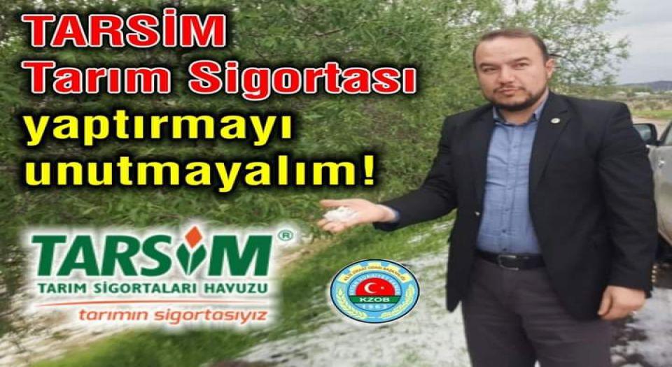 Photo of Kilis'te 'Tarım Sigortası' çağrısı