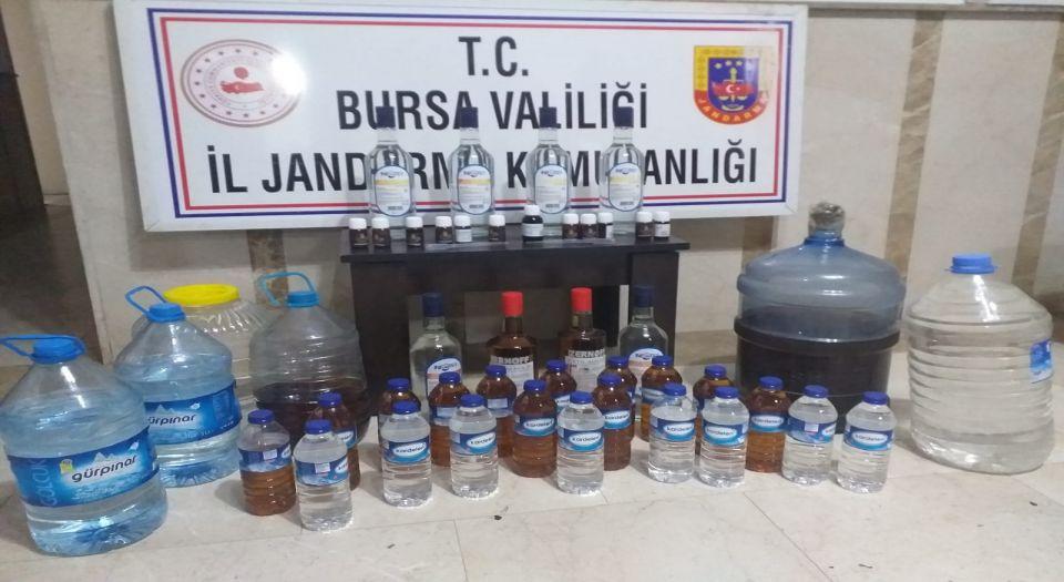 Photo of Balıkesir'de üretilen sahte içki Bursa'da bir kişinin ölümüne sebep oldu!