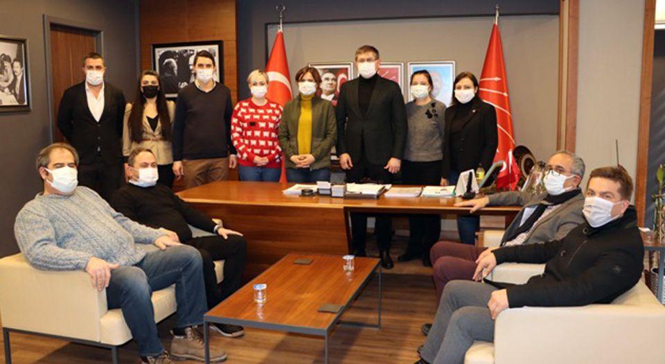 Photo of CHP'li Kaftancıoğlu'ndan Kocaeli ziyareti