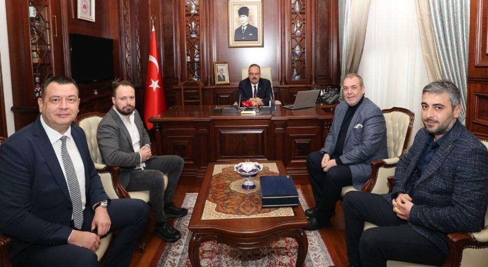Photo of Bursaspor'dan Vali Canbolat'a ziyaret