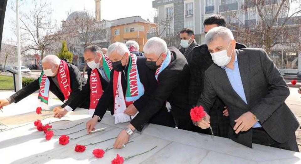 Photo of Kocaeli Körfez'de Hocalı şehitleri dualarla anıldı