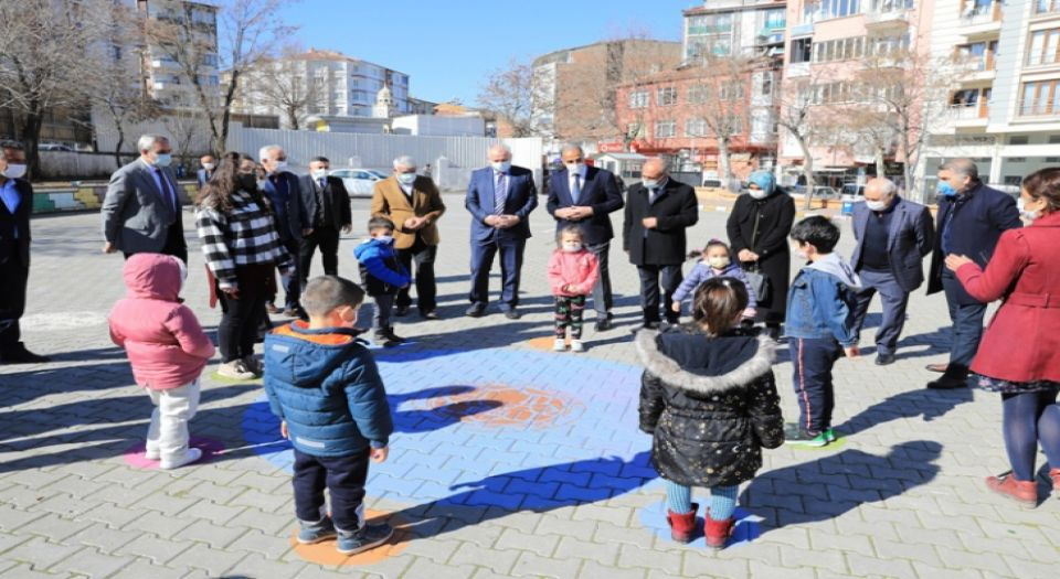Photo of Malatya Battalgazi'deki okullara özel oyun alanı