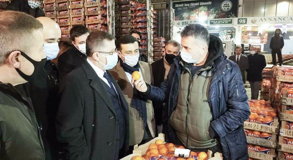 Photo of İYİ Partili Türkkan'ın Bursa'da esnaf ziyareti
