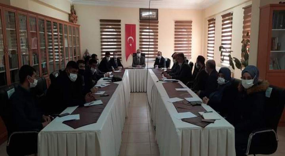 Photo of Kilis İl Müftülüğü'nde istişare
