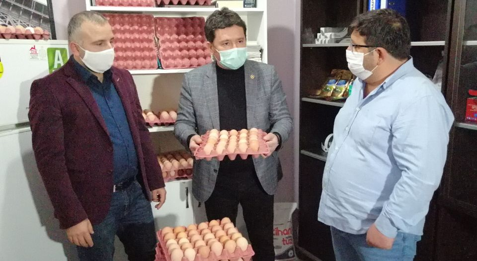 """Photo of """"Elektrik faturası gibi yumurtaya para ödüyoruz"""""""
