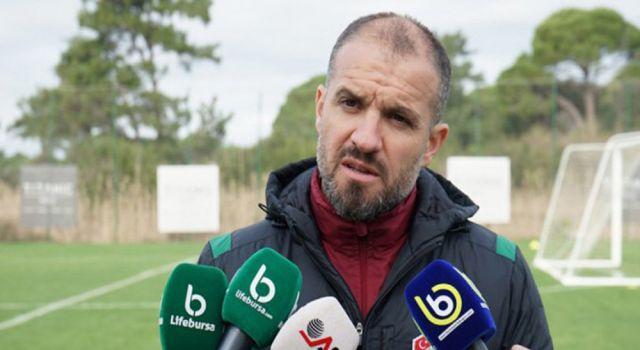 Photo of Bursaspor Teknik Direktörü Er'den 'transfer' yorumu