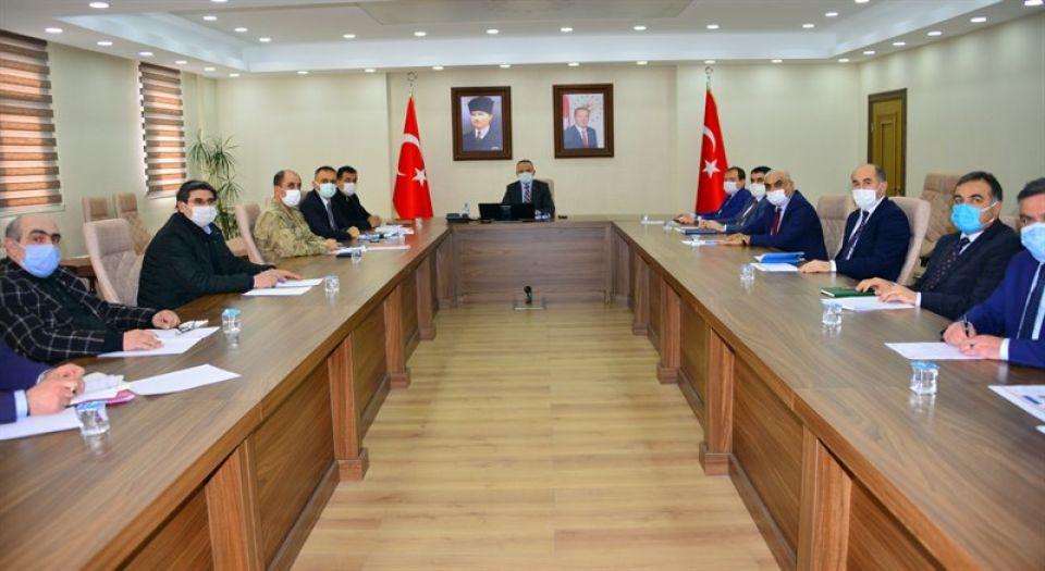 Photo of Yüksek riskli il Ardahan'da tedbir toplantısı