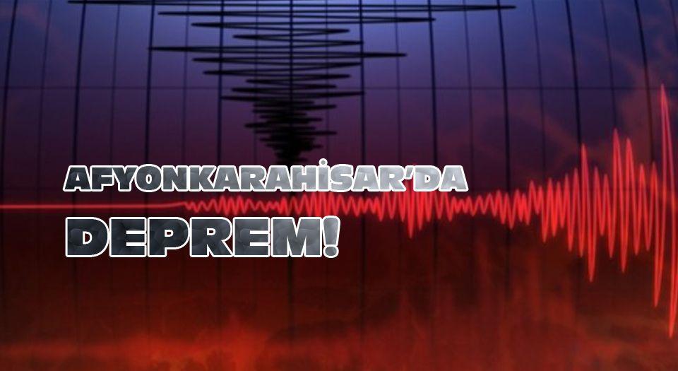 Photo of Afyonkarahisar'da deprem!